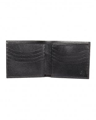 ブラック  2つ折り財布見る