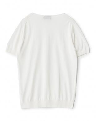 ホワイト  ROBERTO COLLINA 別注クレープポケットTシャツ見る