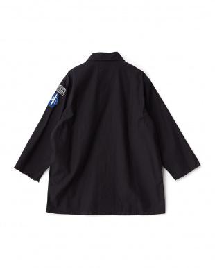 ブラック  ALPHA 別注ワイドユーティリティシャツ見る