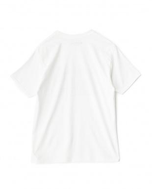 ホワイト  ポートランド プリントTシャツ見る