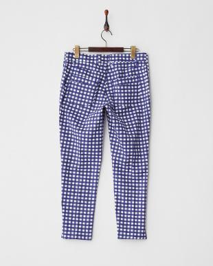 ブルー系チェック RAMATO Long pants見る