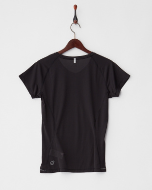 BLACK  Vネック コアラン SS Tシャツ見る