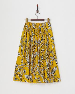 YELLOW  フレアスカート見る