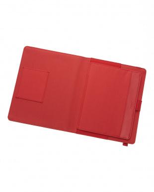 レッド  ラージ メトロポール エラスティックTC タブレットケース見る