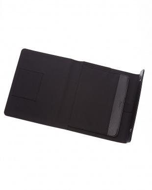 ブラック  ラージ サフィアーノ ラップTC タブレットケース見る