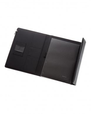 ブラック  Xラージ サフィアーノ ラップTC タブレットケース見る
