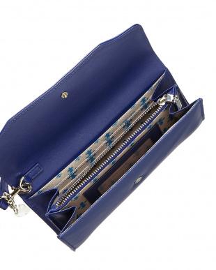 BLUE  Swarovski(スワロフスキー) 長財布見る
