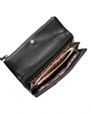 BLACK  Viaggini(ヴィアッジーニ) 長財布見る