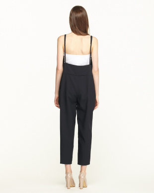 NAVY  TROPICAL TWO-WAY STRETCH ALL-IN-ONE見る