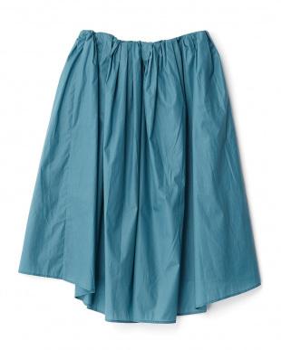 GREEN  イレギュラーミディスカート見る