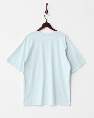 L.BLUE  BオーガニックコットンポケTシャツ(半袖)見る