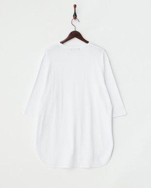 OFF WHITE ワッフルテレコロングTシャツ(5分袖)見る
