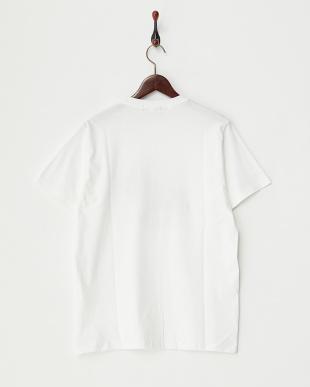 WHITE サークルパームプリントTシャツ(半袖)見る
