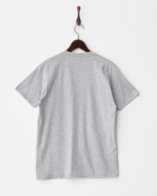 GRAY サークルパームプリントTシャツ(半袖)見る