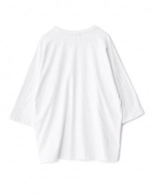 WHITE  エクストラルーズTシャツ(5分袖)見る