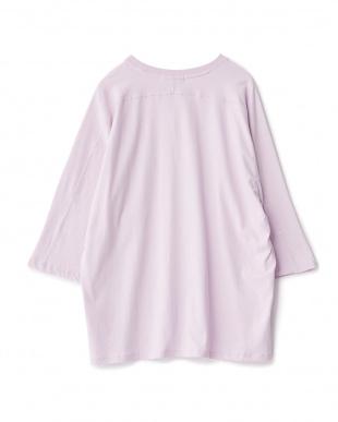 PURPLE  エクストラルーズTシャツ(5分袖)見る