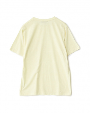 YELLOW  カラーメランジポケTシャツ(半袖)見る