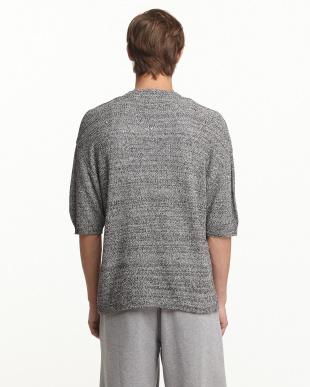 BLACK A メランジカノコセーター(5分袖)見る