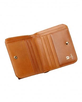 キャメル  BOX折り財布見る