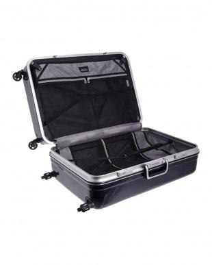 ネイビーカーボン ハードスーツケース94L見る