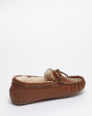 Chestnut  Amity Leather モカシンシューズ見る
