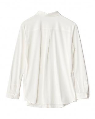 ホワイト ジャージーシャツ見る