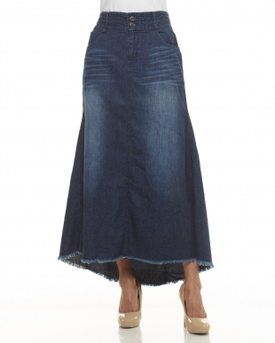 濃色加工  マーメードロングスカート見る