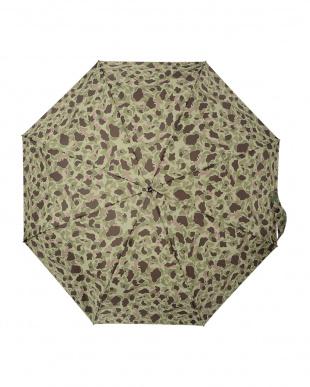 カモフラ(グリーン)  TITAN 70cm 3 sec AOC 自動開閉折りたたみ傘見る