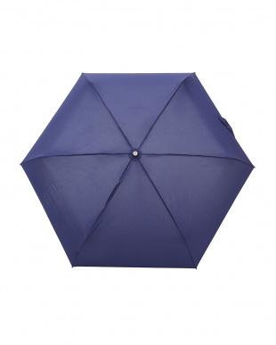 ネイビー  TITAN 4 sec Mini AOC 自動開閉折りたたみ傘見る