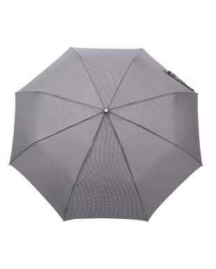 千鳥格子 W81  TITAN 70cm 3 sec AOC 自動開閉折りたたみ傘見る