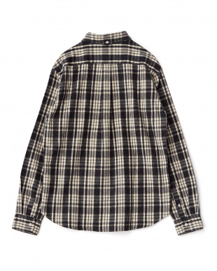 OFF×BLACK FLANNEL CHECK SHIRTS DOORS見る