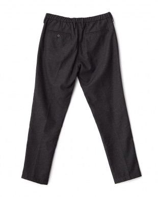 Charcoal  Flannel Easy Trouser DOORS見る
