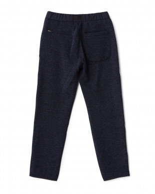 Navy  Knit Fleece Pants DOORS見る