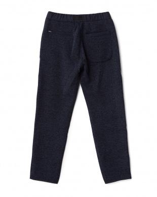 Navy  Knit Fleece Pants DOORS見る