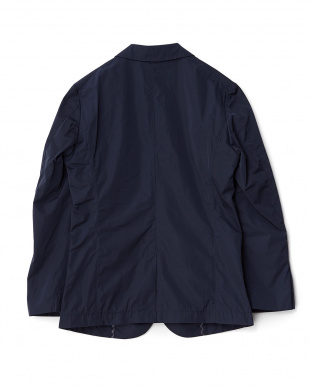 Navy Memory Cloth 2B Jacket DOORS見る
