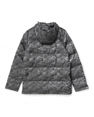 GRAY/CAMOUFLAGE ダウンパーカ WH見る