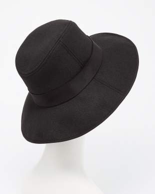 BLACK  BRIM HAT DOORS見る