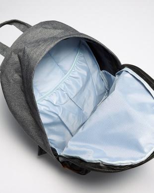 ブルー×ホワイト  Harris Tweed backpack見る