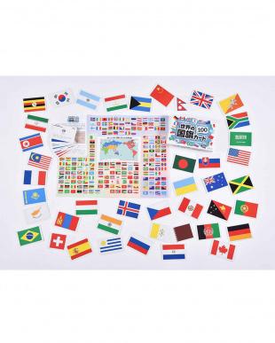 世界の国旗カード100見る