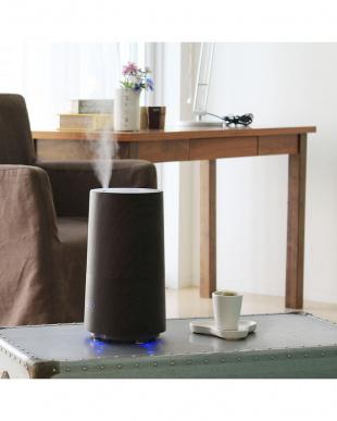 ウォールナット  アロマ超音波式加湿器Tall -wood-(トール-ウッド)見る