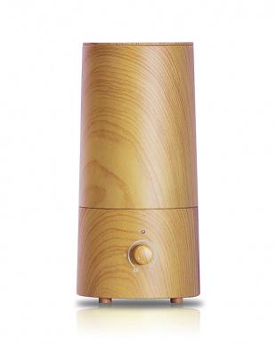 プレーン  アロマ超音波式加湿器-wood-見る