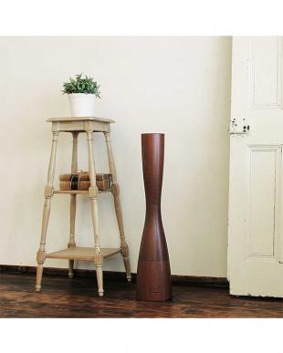 ブラウン アロマ超音波式加湿器 Sablier -wood-見る