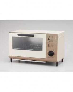 ブラウン con・teオーブントースター見る