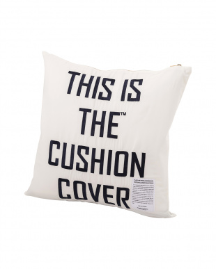ホワイト  THIS IS THE_GEAR [ CUSHION COVER ]45×45見る