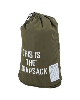 カーキ  THIS IS THE_GEAR [ KNAP SACK ]見る