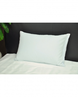 ブルー アイスボディシーツ 涼感枕カバー 2枚組 キシリトール加工 43×63cm見る
