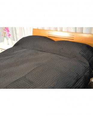 ブラック ベッドスプレッド フロリアナS シングル見る
