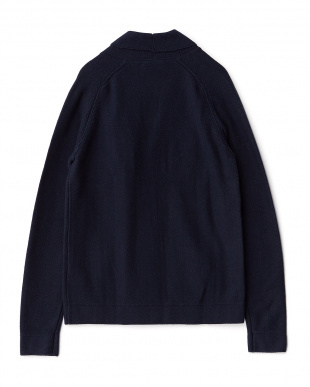NAVY BLUE JOVI CARD/S COTTON CASHMERE 7 カーディガン見る