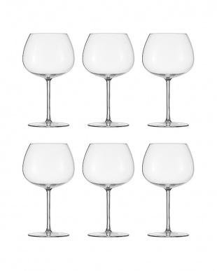 DELIGHT ブルゴーニュワイングラスS 6個セット見る