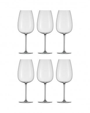 DELIGHT ボルドーワイングラスM 6個セット見る